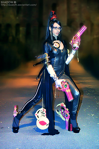 Bayonetta the Umbra Witch by Daelyth