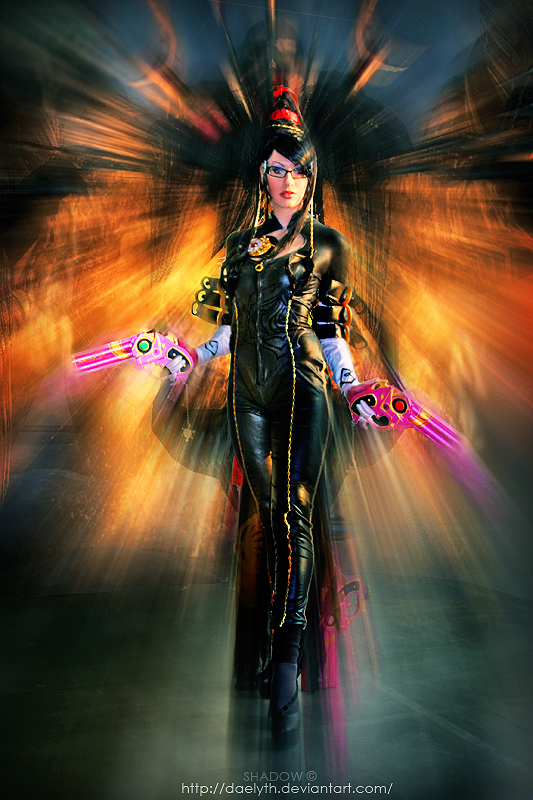 Bayonetta cosplay - cartoomics 2012 by Daelyth