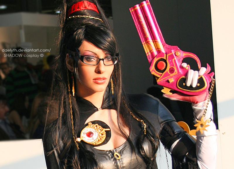 Bayonetta at cartoomics 2012 -04 by Daelyth