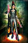 My cosplay of Bayonetta