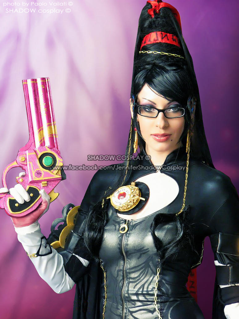 Bayonetta's portrait cosplay by Daelyth