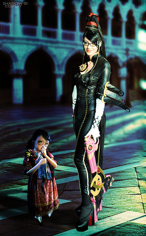 Bayonetta and Cereza - cosplay by Daelyth