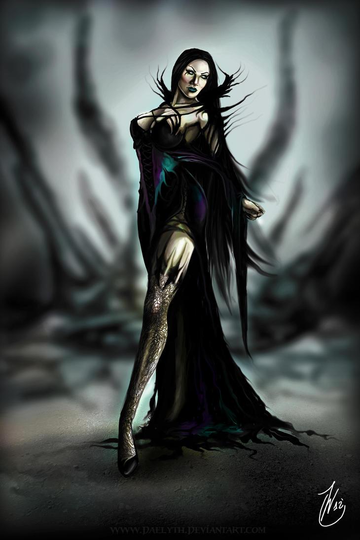 In my dark realm by Daelyth