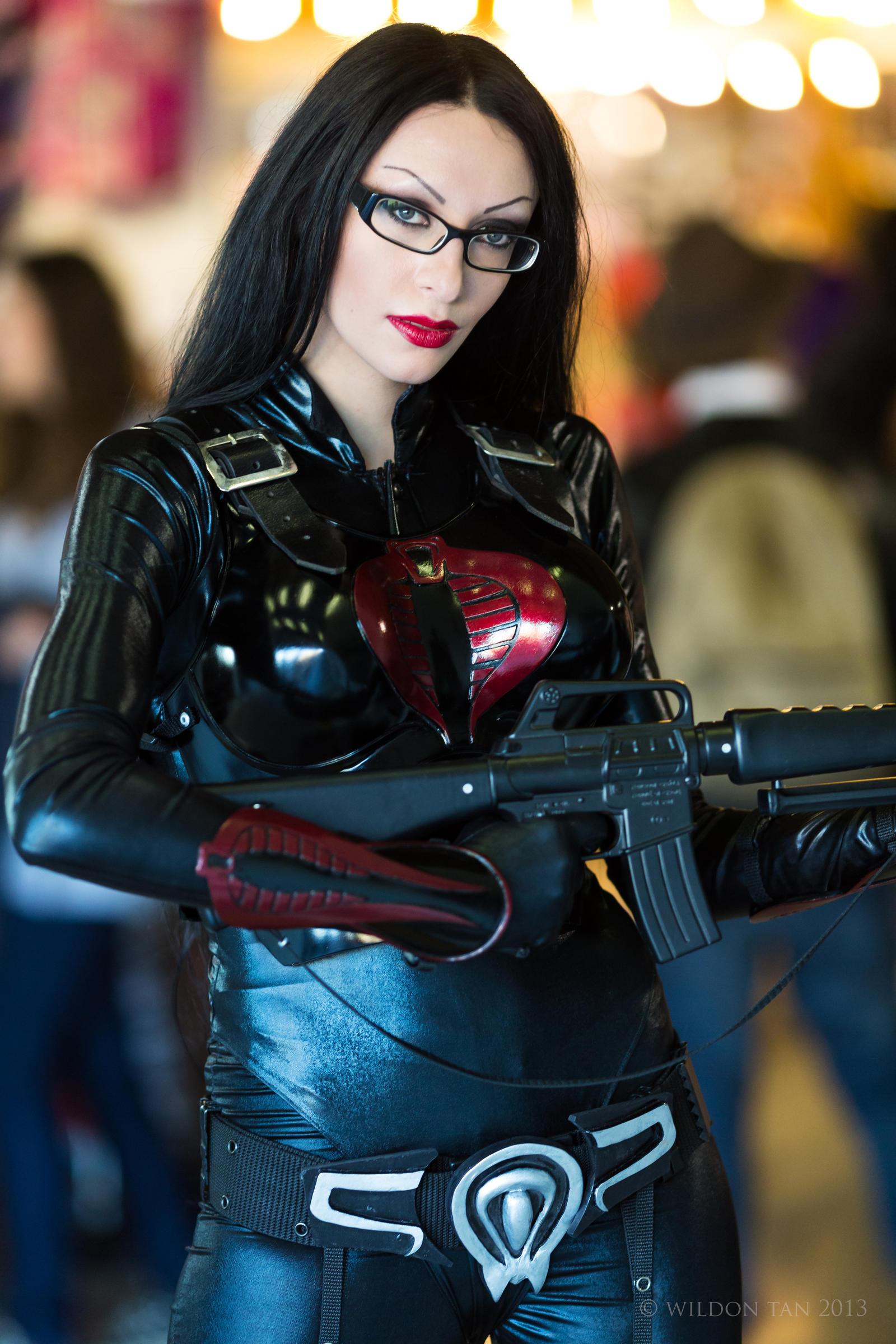 Baroness G.I. Joe cosplay by Daelyth