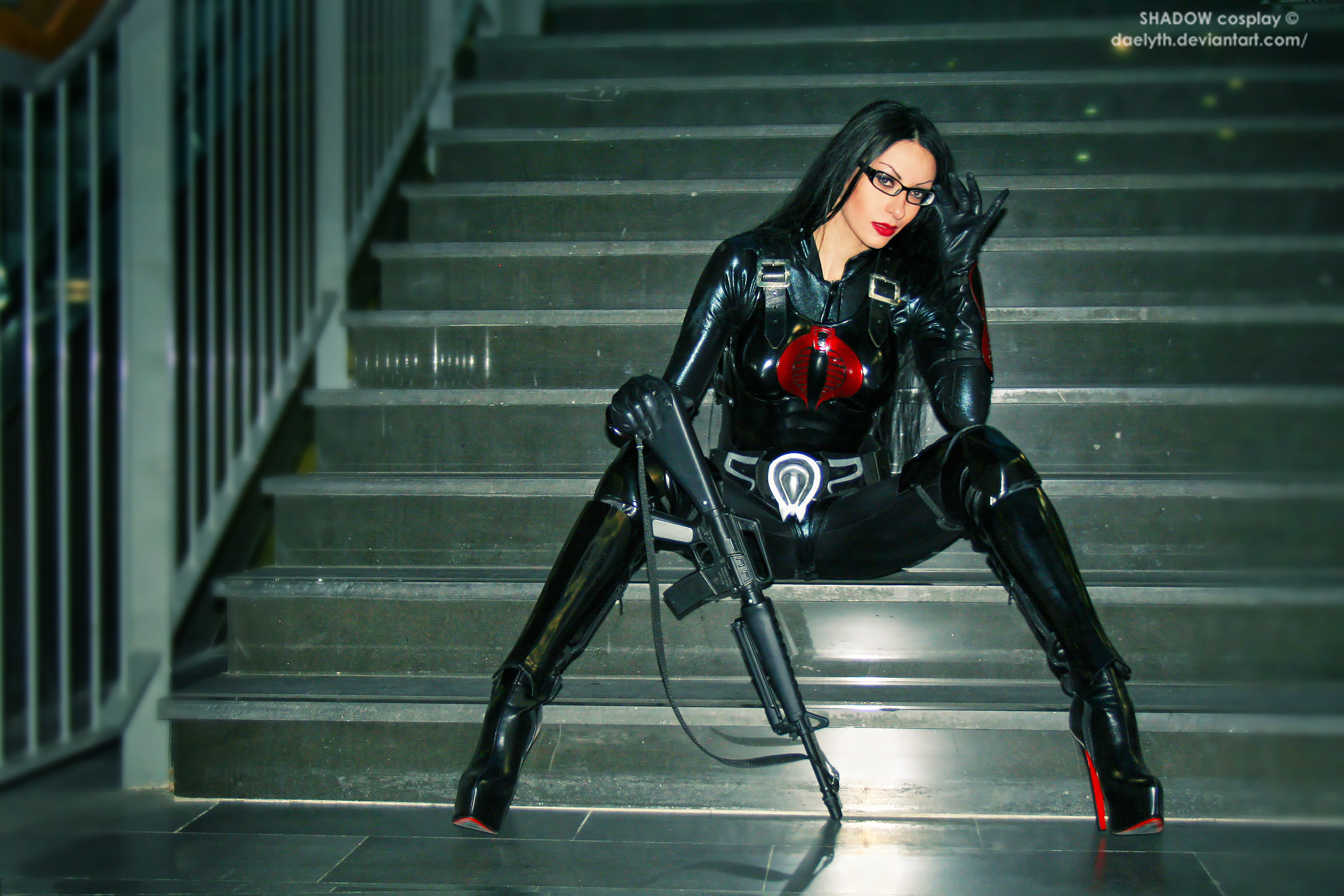 Baroness from G.I. Joe Cosplay by Daelyth