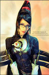 Bayonetta  cosplay portrait