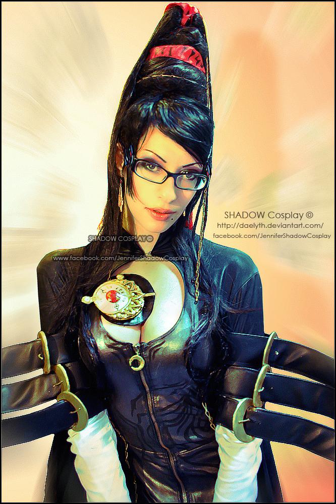 Bayonetta  cosplay portrait by Daelyth