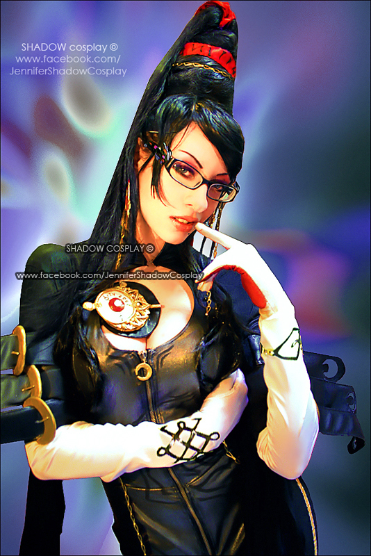 My cosplay of Bayonetta by Daelyth