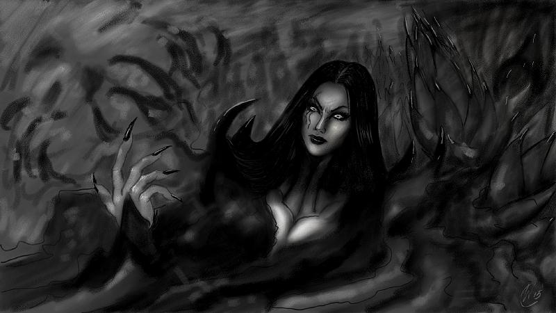 La Necrofora by Daelyth