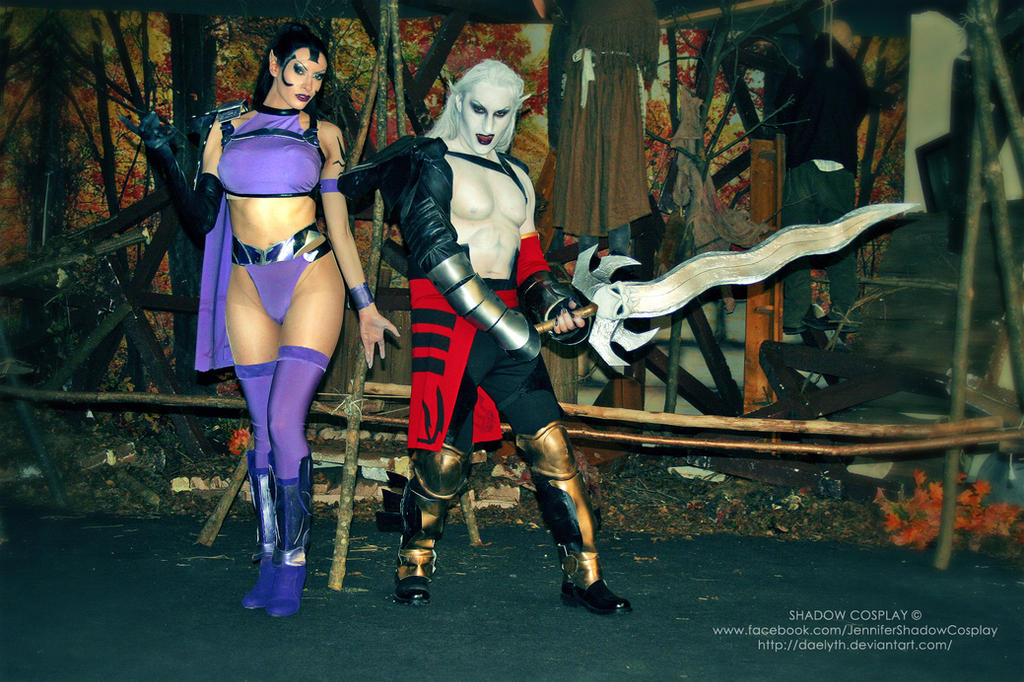 Umah and Kain from Blood Omen 2 cosplay by Daelyth
