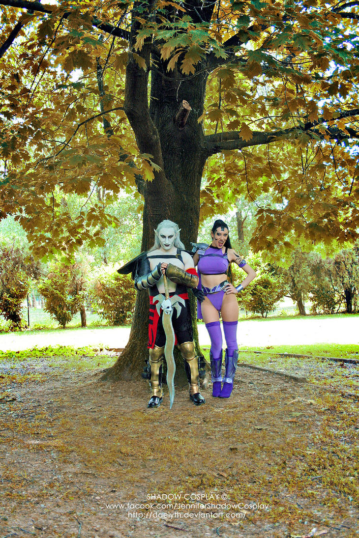 Umah and Kain cosplay from Blood Omen 2 by Daelyth