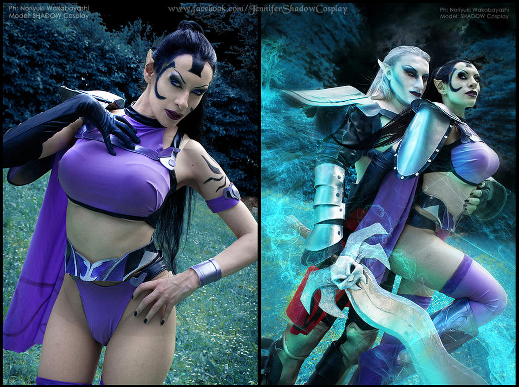 Kain and Umah cosplay from Blood Omen 2 by Daelyth