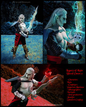 Kain cosplay from Legacy of Kain: Blood Omen 2