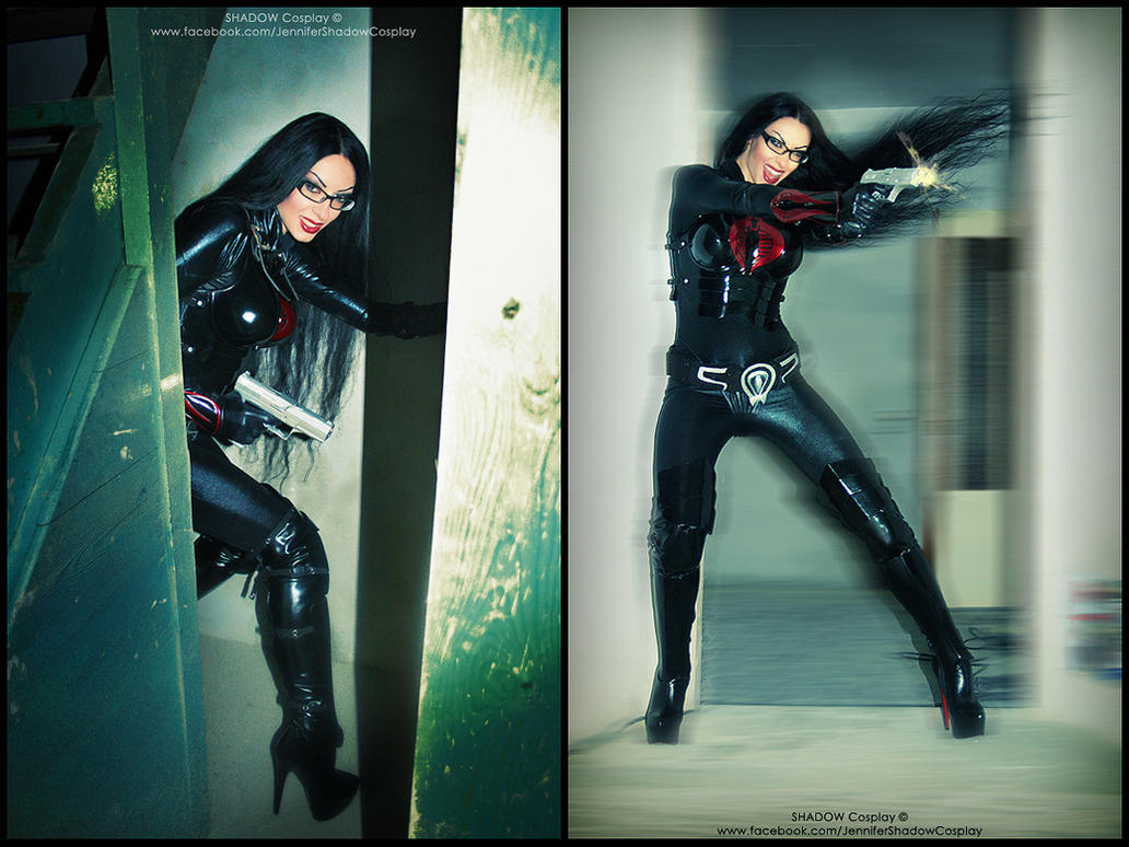 The Cobra Baroness action (cosplay) by Daelyth