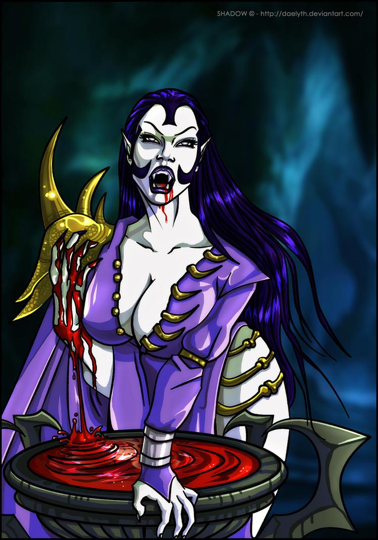 Umah - Blood Omen 2 fan art (Colors) by Daelyth