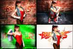 Tia Langray cosplay - Breakers