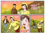 Shenmue3 - Shenhua and the green apple by Daelyth