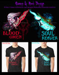 Legacy of Kain and Soul Reaver by Daelyth