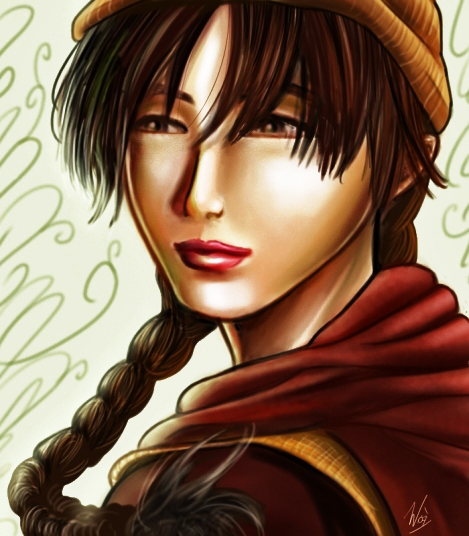 Shenhua from Shenmue by Daelyth