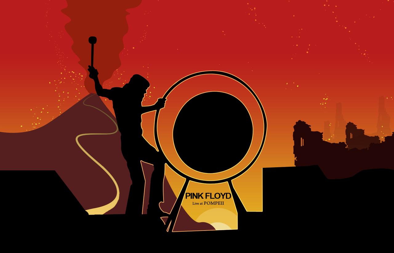 Pink Floyd Pompeii Wallpaper by ineedfire
