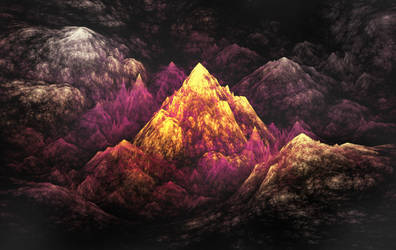 Fractal Cavescape PS by ineedfire