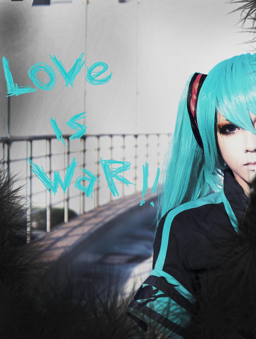 Miku Hatsune Love is War by CosPlayJG