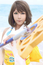 Yuna Final Fantasy X by CosPlayJG