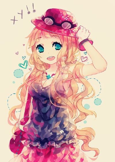 Kawaii Anime Girl by Lillian14 on DeviantArt