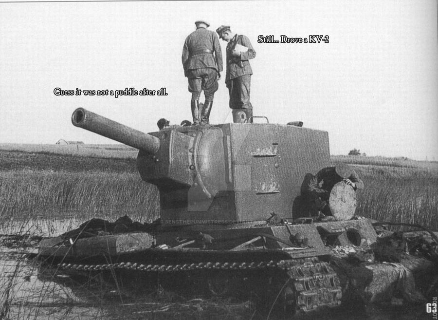 Still Drove KV-2 by Hellomon100