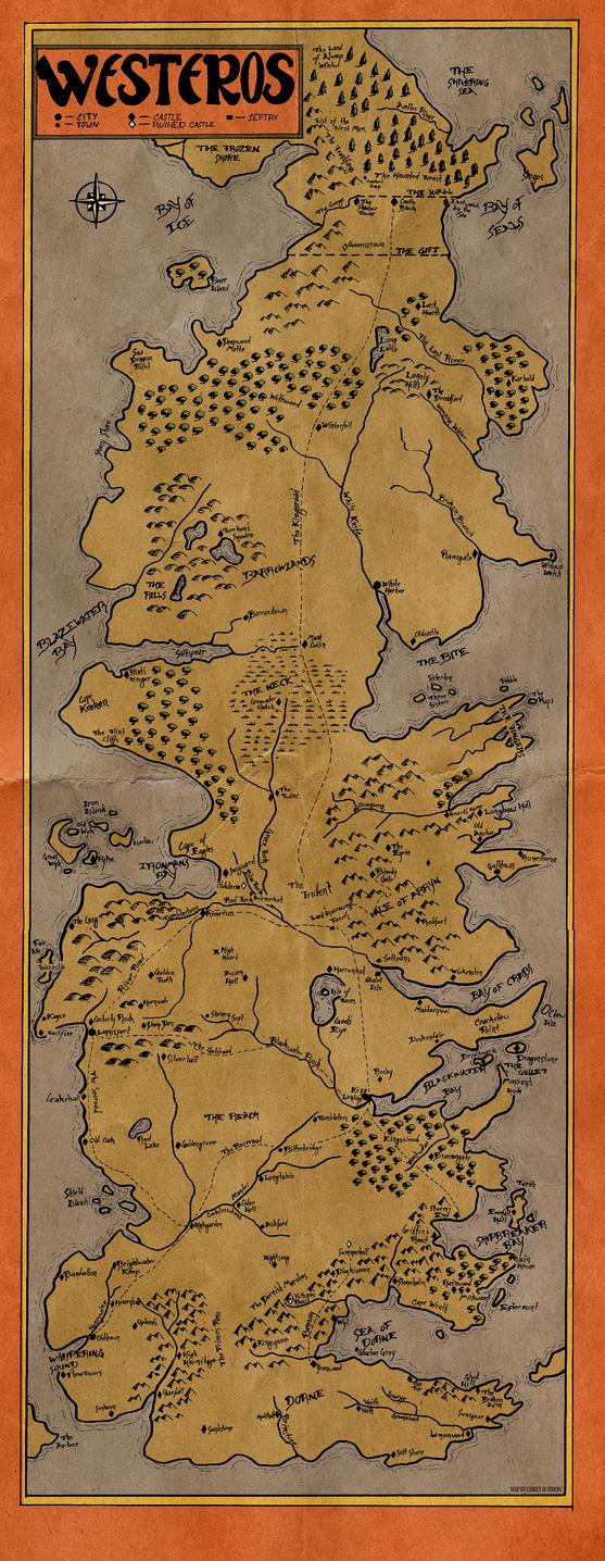 Westeros by WaterCorey
