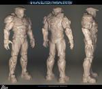 Halowars - Spartan maquette