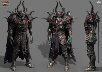 warhammer - Chaos Champion by Baldasseroni