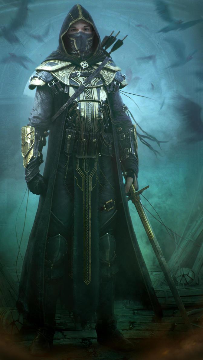 Elder Scrolls Online - Breton Knight by Baldasseroni