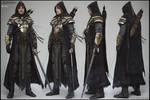 Breton Knight - Full body production render