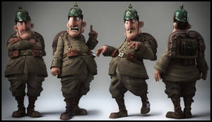 Little Soldier by Baldasseroni