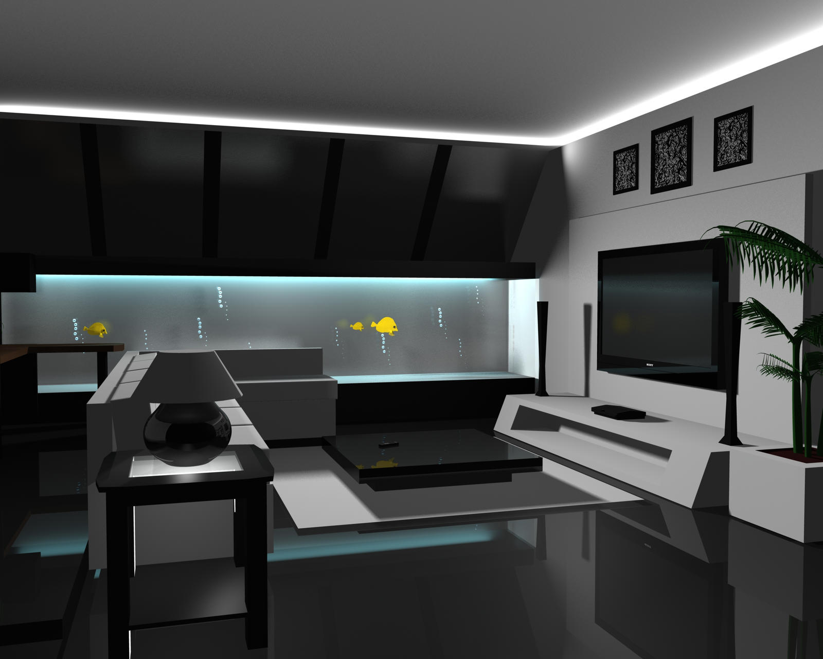 Modern media room by xbrainshock on deviantart for What is a media room