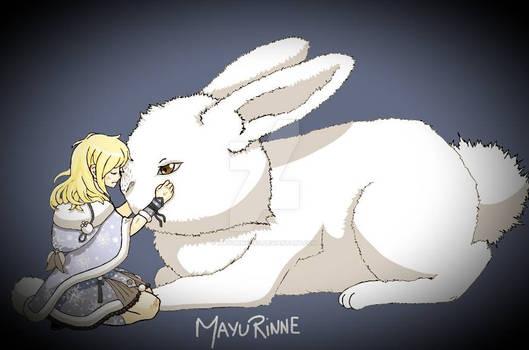 Rabbit of room sun-Love nikki