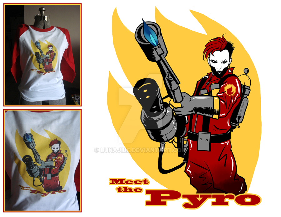 Birthday Pyro Shirt by lunajile