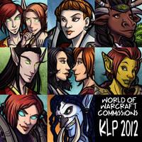 Warcraft February Icons by lunajile