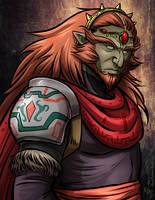 Ganondorf - Great King of Evil by lunajile