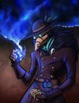 Steampunk Plague Doctor by lunajile