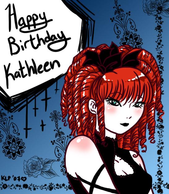 Happy Birthday Kathleen By Lunajile On DeviantArt