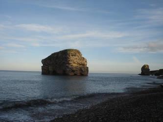 Marsden Rock II by twiggy101