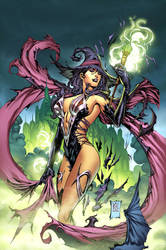 Zenescope Oz cover #6