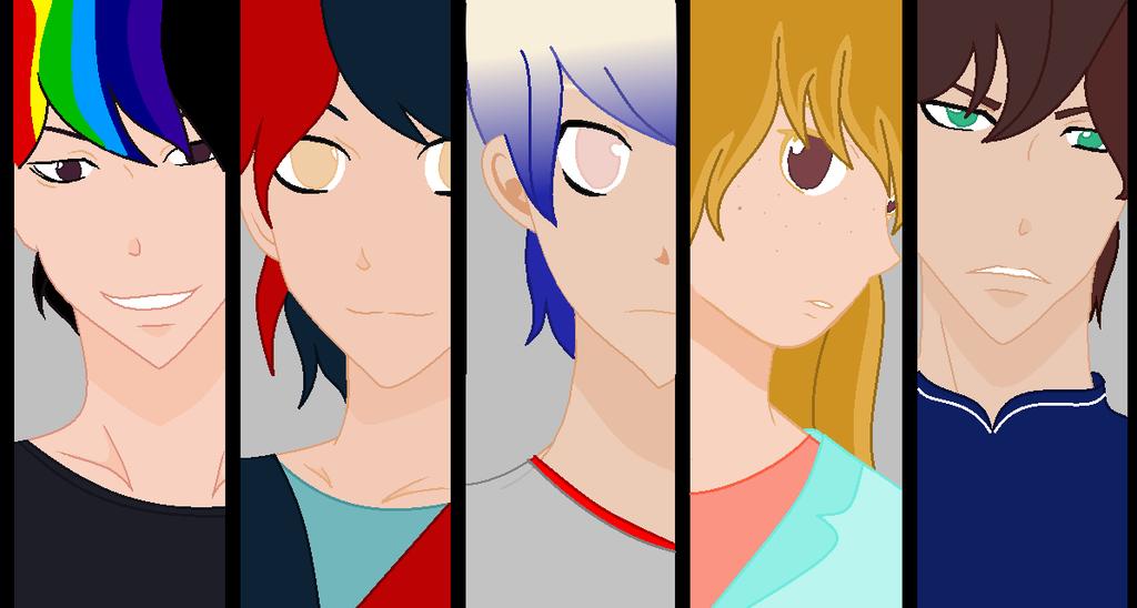 Anime gang facial