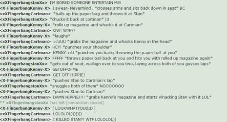 Cartman Killed Stan? LOL by xXFingerbangCartman