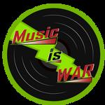 Music Is War Logo (Green) by ABluSkittle