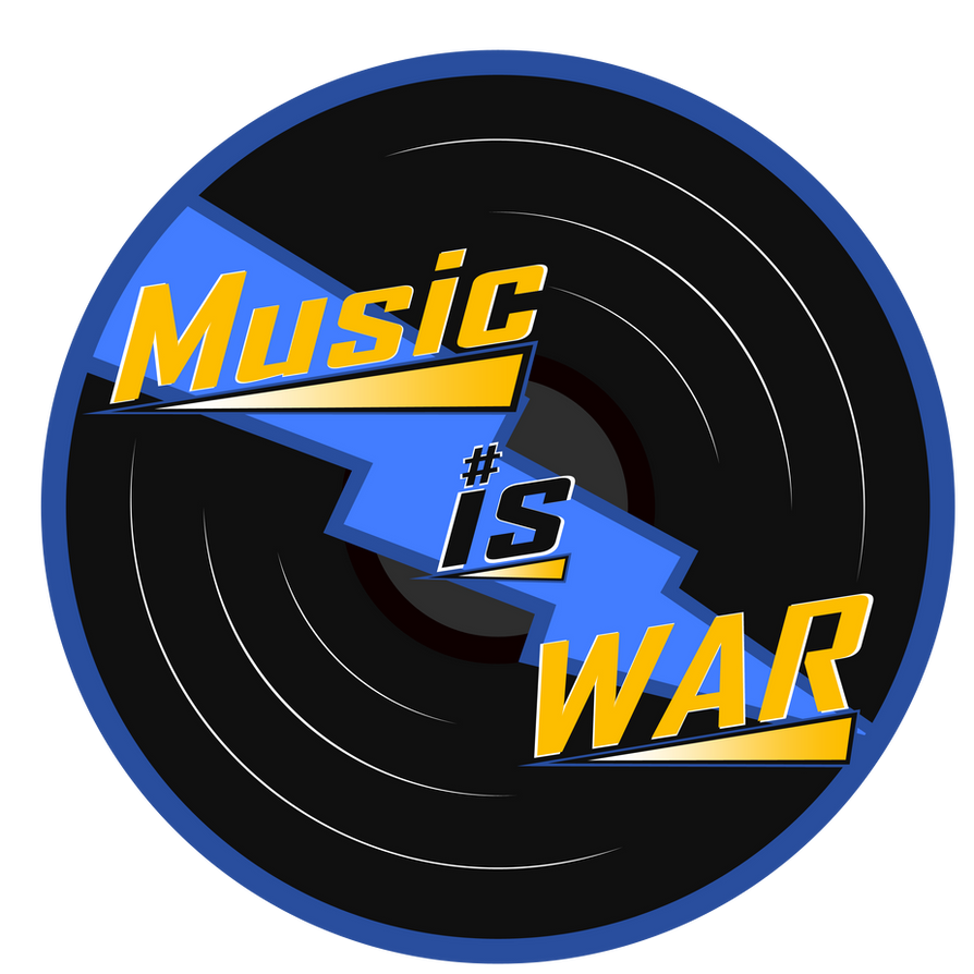 Music Is War Logo (Blu) by ABluSkittle