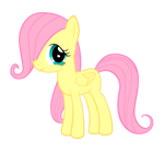 Filly Fluttershy Vector