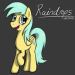 Raindrops Pony Sketch